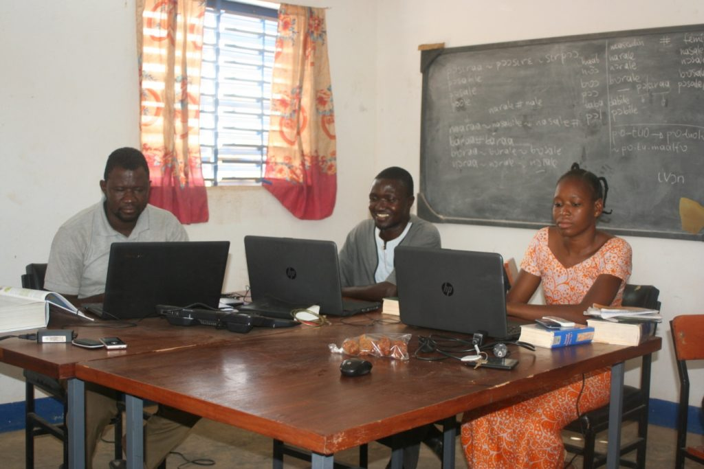 Burkina Faso's Birifor speakers